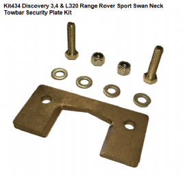 KIT434 Swan Neck Security Plate Kit